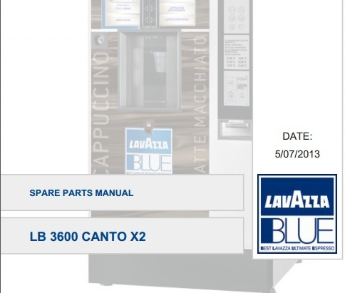 Каталог запчастей Canto LB 3600