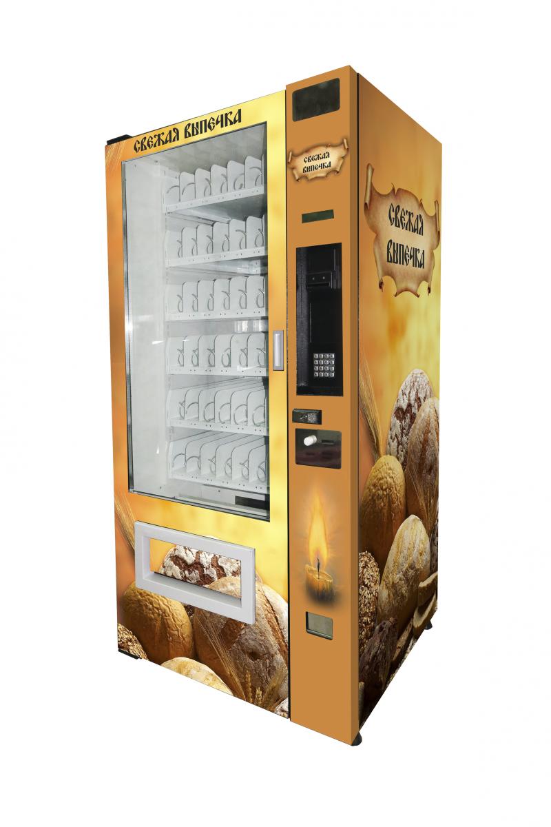 Торговый автомат SM 6367 VendShop по продаже выпечки, хлеба