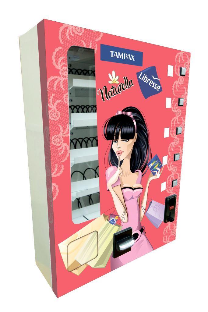 Торговый автомат SM MINI по продаже средств гигиены