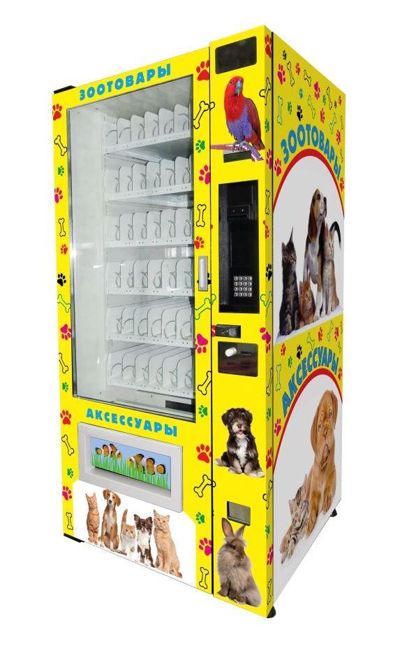 Торговый автомат SM 6367 VendShop по продаже кормов для животных