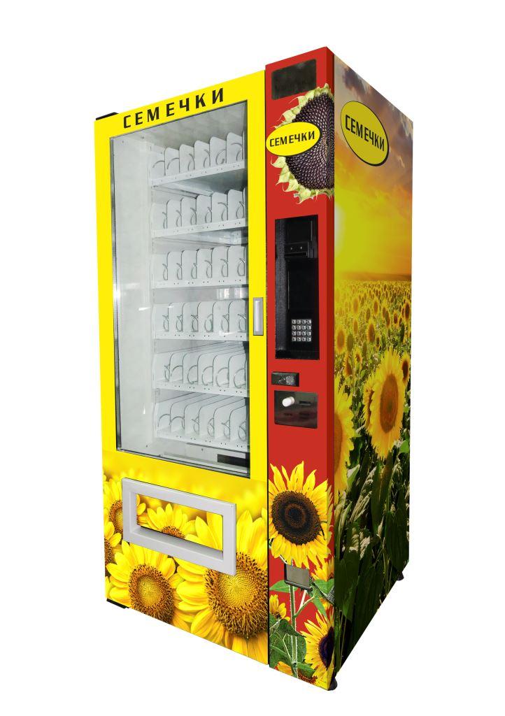 Торговый автомат SM 6367 VendShop по продаже семечек