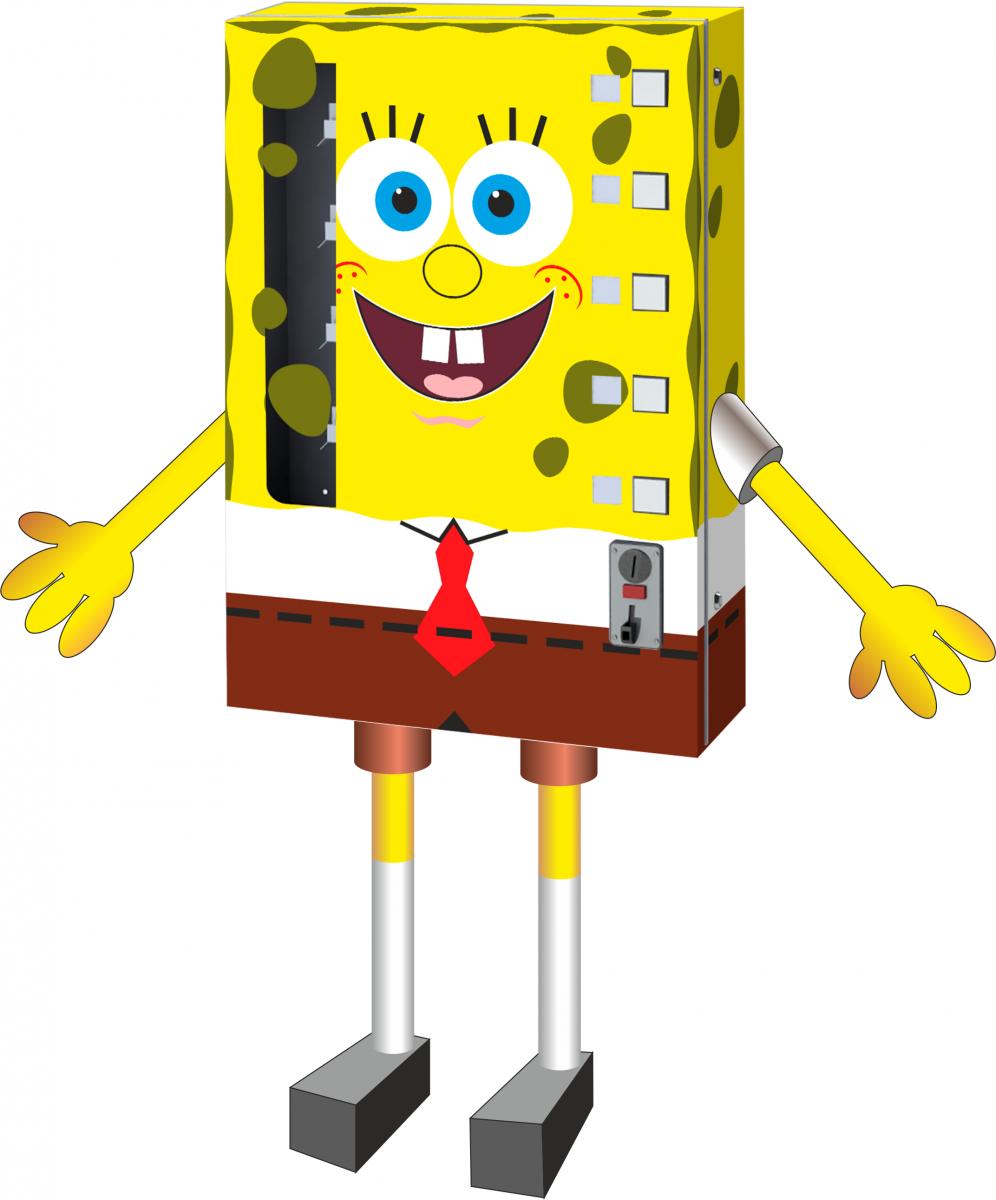 Торговый автомат SM MINI по продаже игрушек