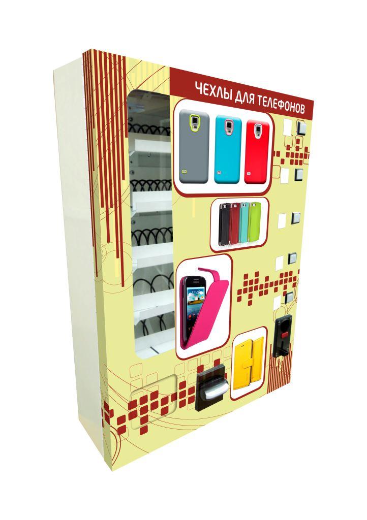 Торговый автомат SM MINI по продаже чехлов на телефон