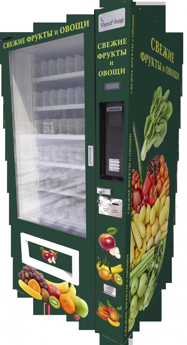 Торговый автомат SM 6367 VendShop по продаже овощей и фруктов