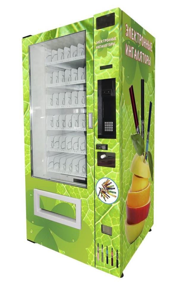 Торговый автомат SM 6367 VendShop по продаже электронных сигарет