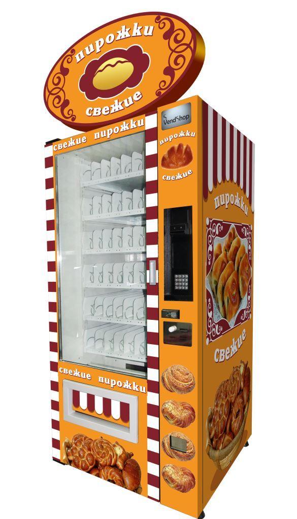 Торговый автомат SM 6367 VendShop по продаже пирожков