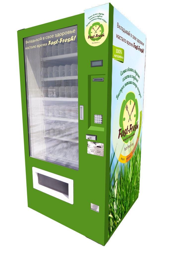 Торговый автомат SM 6367 VendShop по продаже здоровой еды