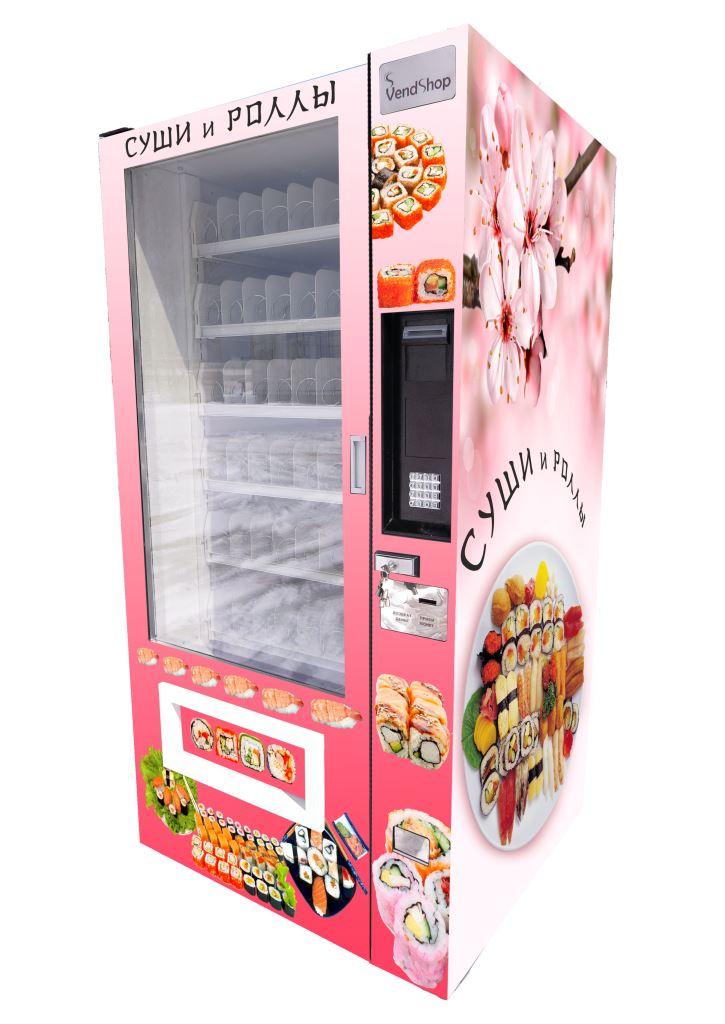 Торговый автомат SM 6367 VendShop по продаже суши и роллов