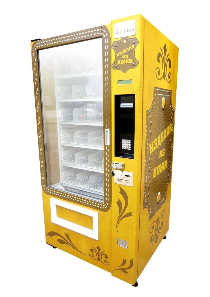 Автомат VendShop для продажи кожаных изделий