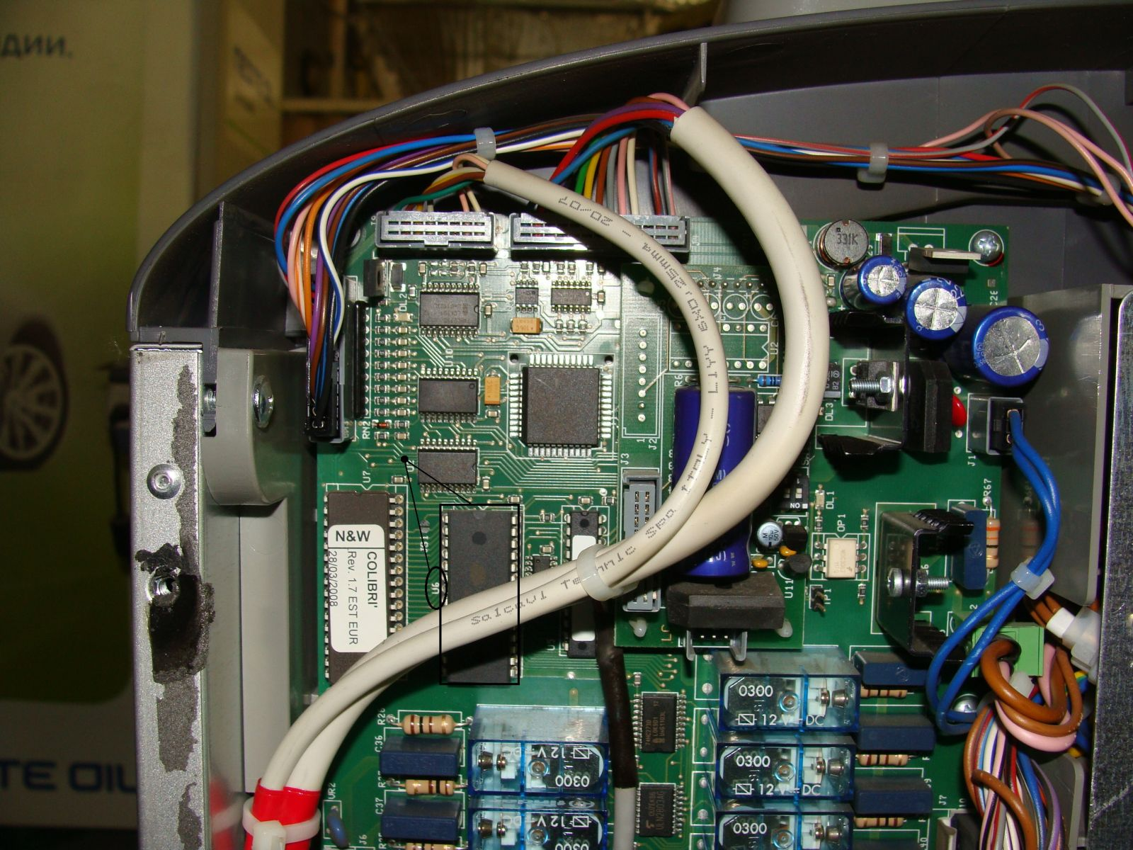 Colibri C5 микросхема U6