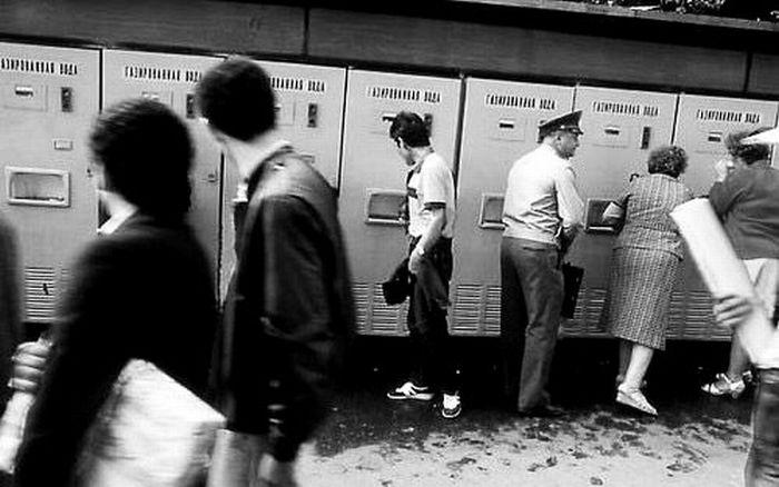 Торговый автомат газированной воды