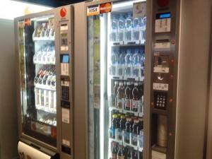 Автоматы Selecta принимают к оплате кредитные карты VISA и MC