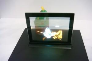 Торговый автомат с прозрачным экраном