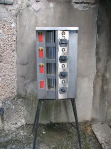 Инсбрук, автомат по продаже свечей