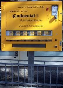 Автомат по продаже камер и наборов для ремонта