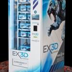 3D очки EX3D в торговом автомате