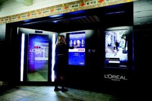Автоматы косметики L'oreal