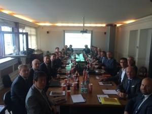 Круглый стол с представителями JVMMA, 4 сентября