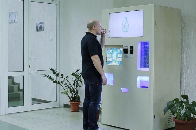 Автомат по продаже талой воды TALTAL