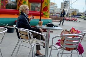Кафе на набережной Ялты