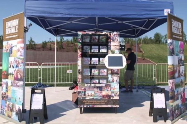 Торговый автомат в Форт-Макмюррей
