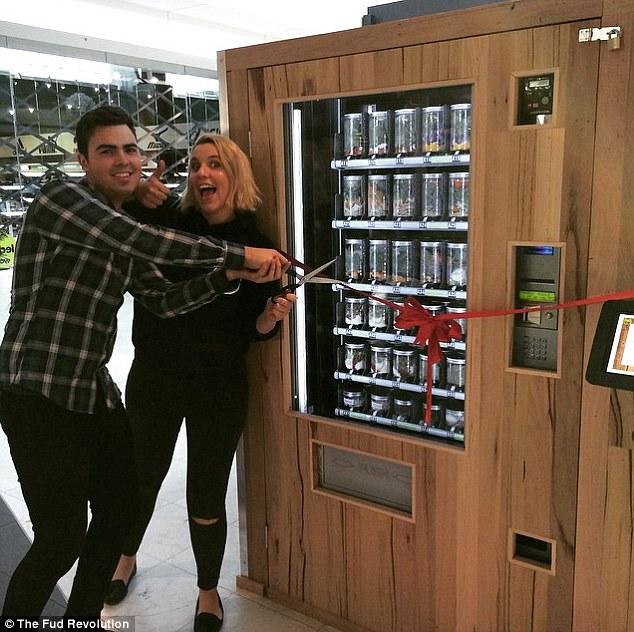 Дэйн Блекберн и Лора Андерсен из Мельбурна ¬– создатели автоматов The Fud Revolution