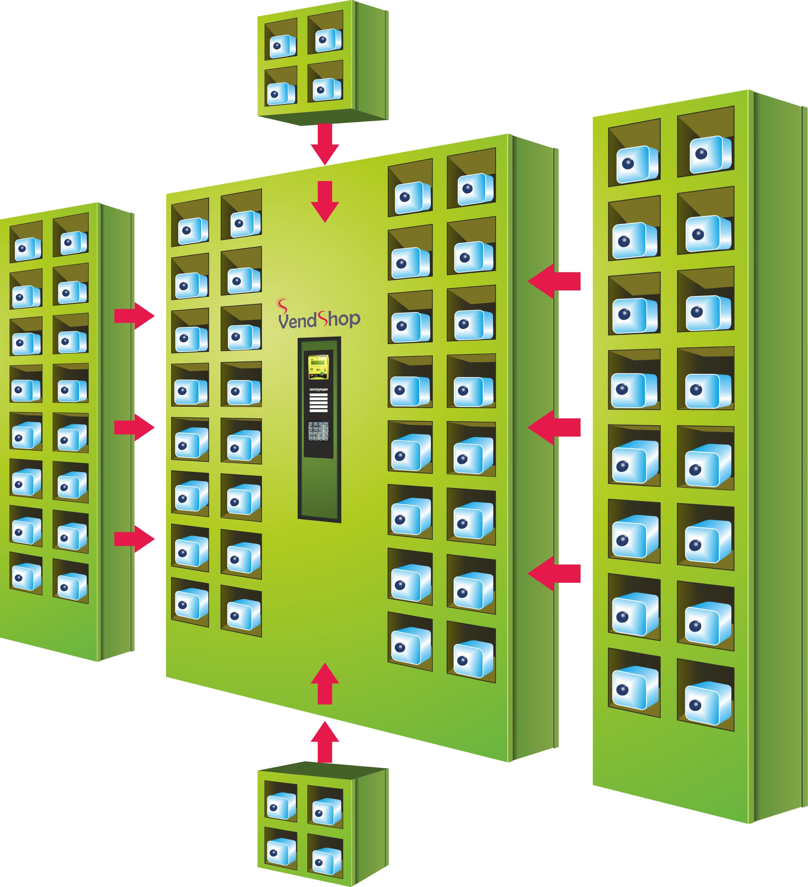 Торговый автомат ELEMENT