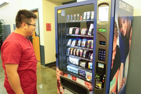 Канцтоварный торговый автомат