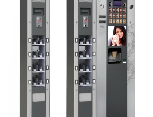Новинка от вендинговой компании-производителя VendShop: торговый автомат SM SLIM
