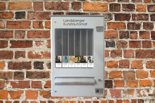 Эскиз автомата для продажи картин