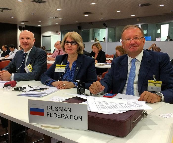 Россию приветствуют в Милане в качестве полноправного члена ICO