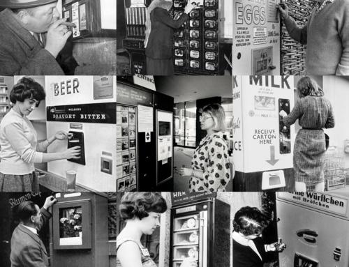 Торговые автоматы 20 века: Всё новое — это хорошо забытое старое