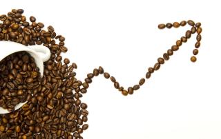 стоимость кофе: октябрь 2017