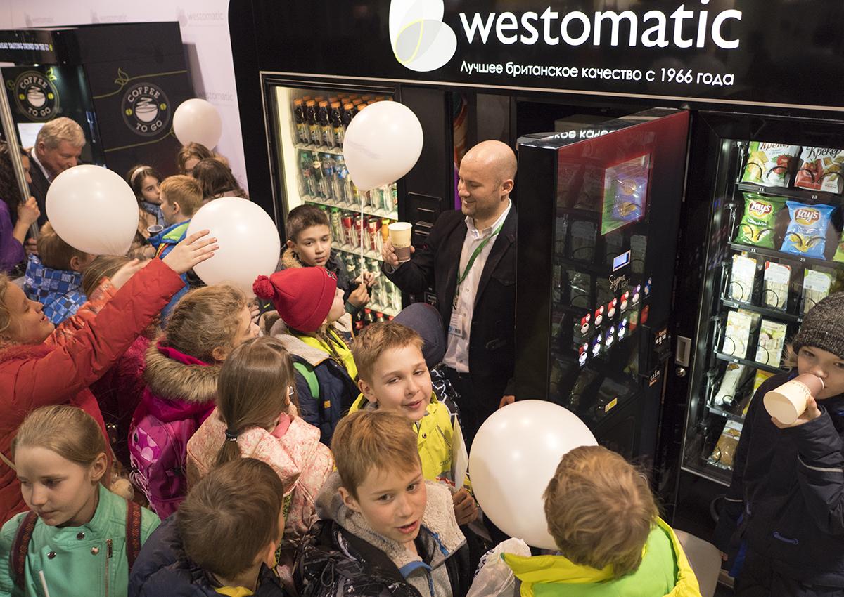 Westomatic на VendExpo 2016