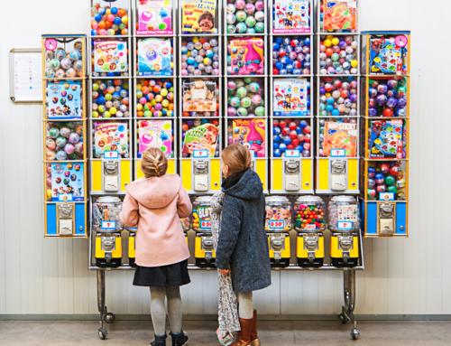 Обзор рынка игрушек для вендинга: март – апрель 2018