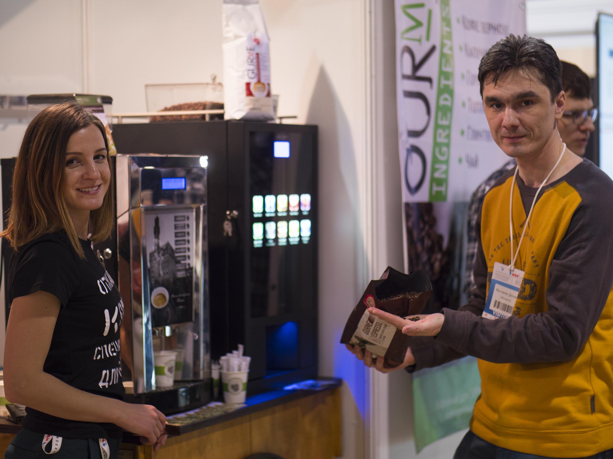 Кофейный Дом ГУРМЕ на выставке VendExpo 2017