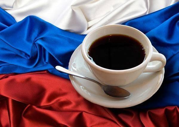 кофе в России