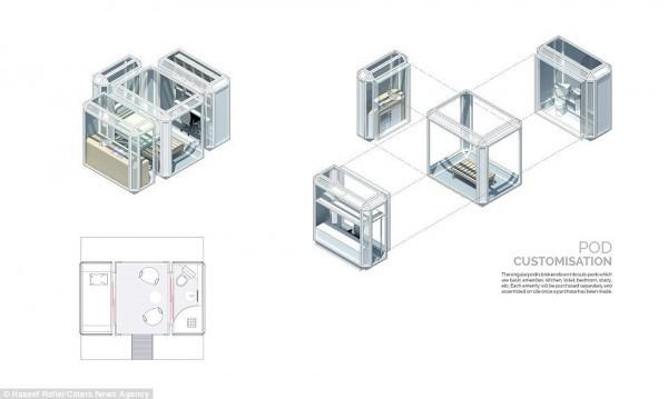 Фантастический вендинг Pod Vending Machine или Home To Go