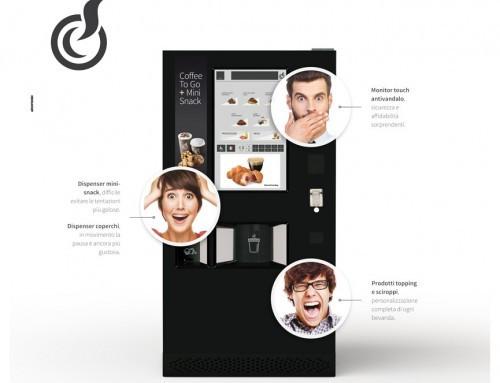 Итальянцы представили миру торговый автомат LEI2GO Touch 32