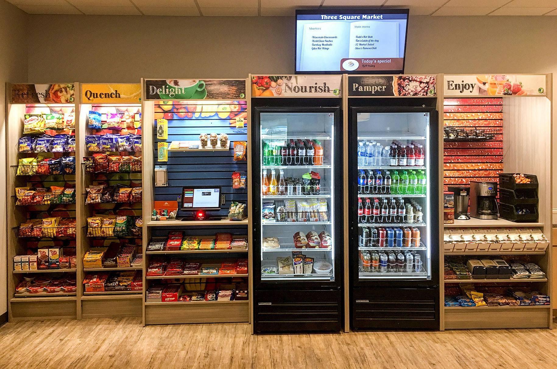 Покупки в торговых автоматах с помощью вживленных микрочипов