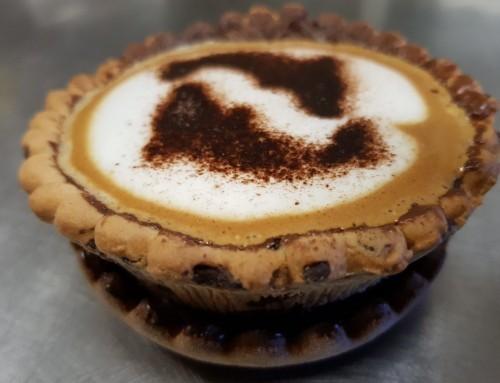 Знакомьтесь с PieFee: пирог с кофе