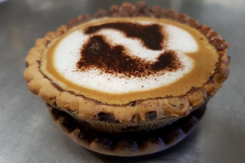 Знакомьтесь с PieFee пирог с кофе