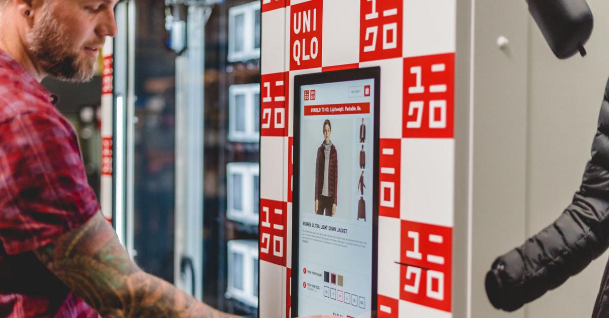 Uniqlo начал продавать через торговые автоматы