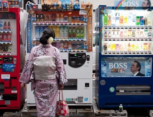 Почему в Японии так много торговых автоматов?
