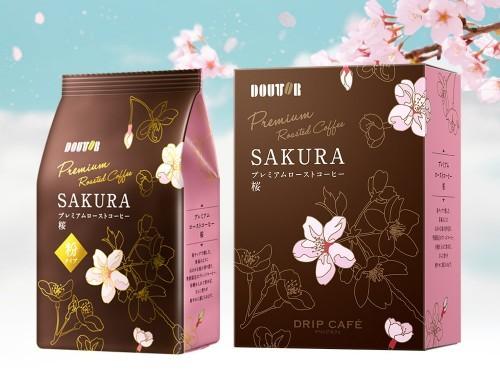 Это искусство: Японская кофейная цепочка Doutor показала премиальный сакура-кофе