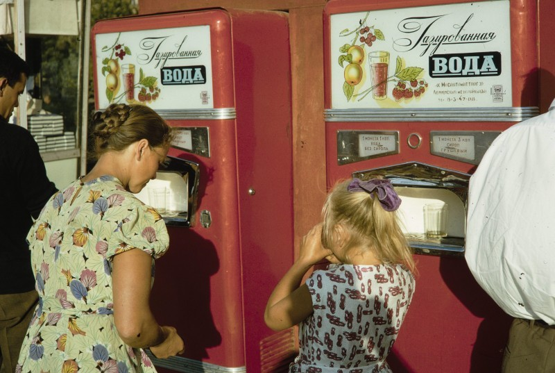 Автоматы с газировкой у станции метро «Университет»