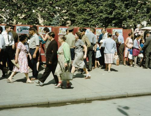 Газированная вода в СССР: 1959-1964 фото Харрисона Формана в Москве