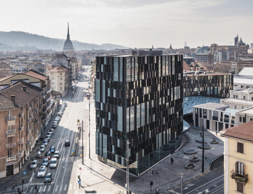 LAVAZZA открывает штаб-квартиру NUVOLA в Турине