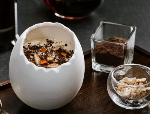 Пасха с LAVAZZA: Уникальный рецепт пасхального мороженого