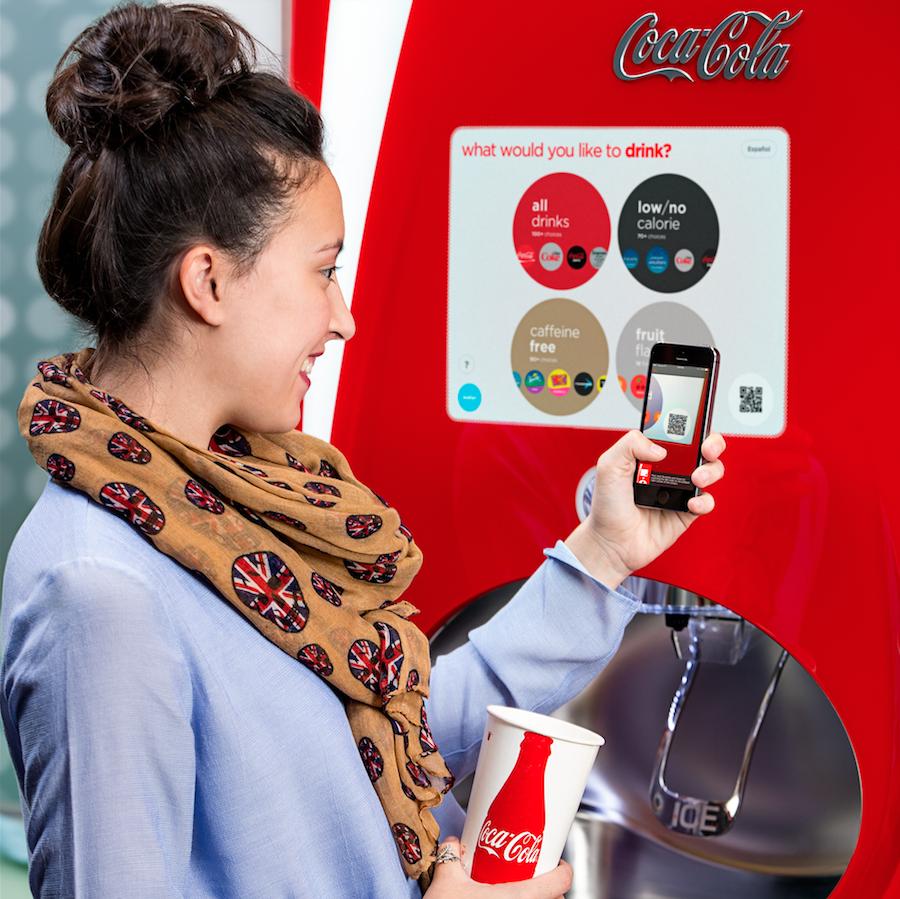 Coca-Cola Freestyle устанавливает 50 000 торговых автоматов, продолжая инновации в вендинге
